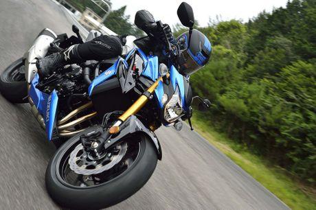 Suzuki gioi thieu GSX-S750 2017, naked-bike 750 phan khoi, kiem soat luc keo 3 cap, ABS - Anh 7