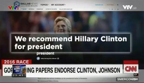 Truyen thong My lua chon ung vien Hillary Clinton - Anh 1