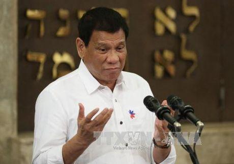 Tong thong Philippines cam ket van lien minh quan su voi My - Anh 1