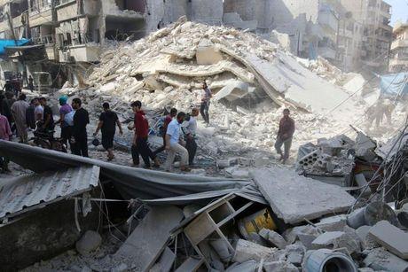 Syria: 25 nguoi thiet mang sau dot khong kich cua Nga - Anh 1