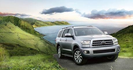 Toyota Sequoia 2017: SUV co lon hoan hao gia tu 45.460 USD - Anh 1