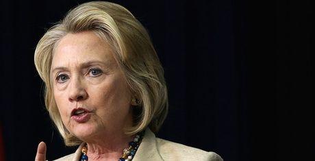 Clinton: TQ tuyen bo chu quyen bien Dong bang 'may manh gom vo' - Anh 1