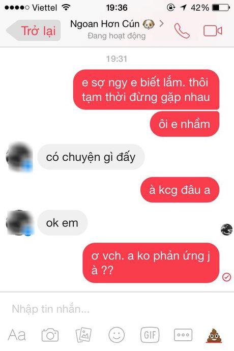 Chi em hao hung voi trao luu thu long nguoi yeu bang tin nhan: 'Em so no biet lam' - Anh 7