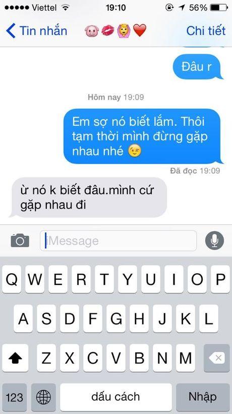 Chi em hao hung voi trao luu thu long nguoi yeu bang tin nhan: 'Em so no biet lam' - Anh 8
