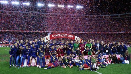 Barcelona vuot mat Real Madrid, lan dau vo dich ve khoan kiem tien - Anh 1