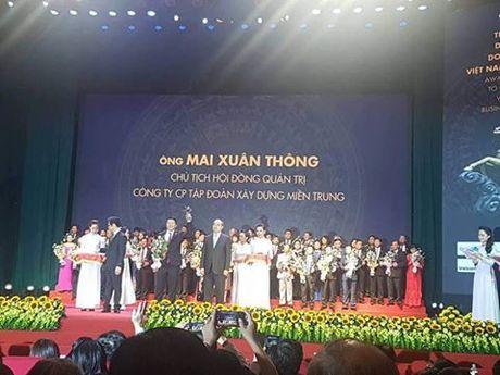 Chu tich Tap doan Xay dung Mien Trung nhan Cup Thanh Giong - Anh 1