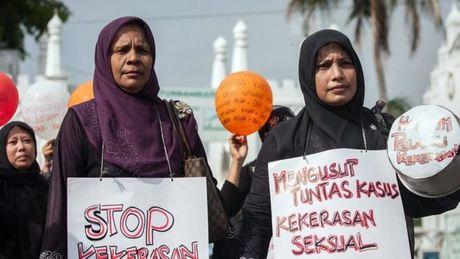 Indonesia thong qua luat 'thien hoa hoc' doi voi toi pham hiep dam tre em - Anh 1
