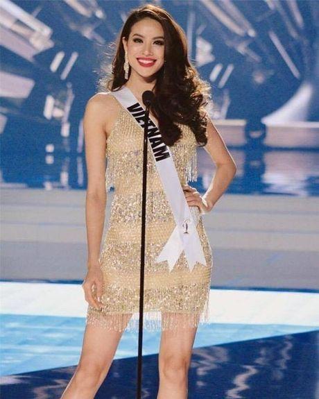 Dien vay giong Pham Huong, Nam Em gay chu y tai Miss Earth 2016 - Anh 2