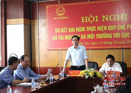 Tang cuong cong tac phoi hop giua nganh Thue va Tai nguyen moi truong - Anh 2