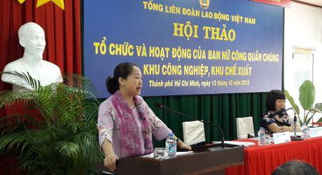 Tong LDLDVN tang cuong nang cao vai tro Ban nu cong co so - Anh 1