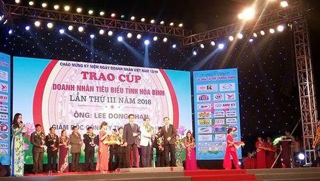 Hoa Binh: Ton vinh 23 doanh nghiep va 29 doanh nhan tieu bieu - Anh 1