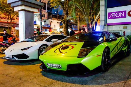 Dai tiec Lamborghini cua Minh Nhua o Sai Gon - Anh 10