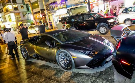 Dai tiec Lamborghini cua Minh Nhua o Sai Gon - Anh 11