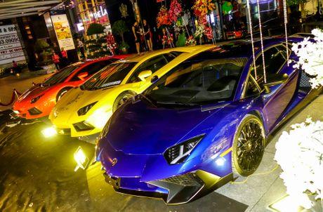 Dai tiec Lamborghini cua Minh Nhua o Sai Gon - Anh 1