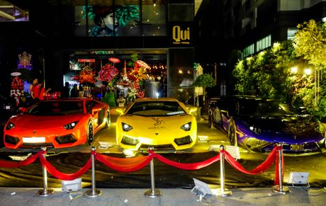 Dai tiec Lamborghini cua Minh Nhua o Sai Gon - Anh 2