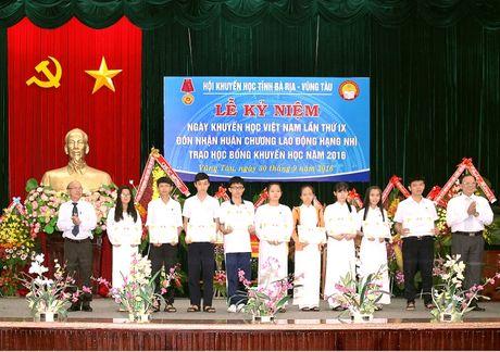 PV GAS dong hanh cung Hoi Khuyen hoc tinh Ba Ria-Vung Tau - Anh 1