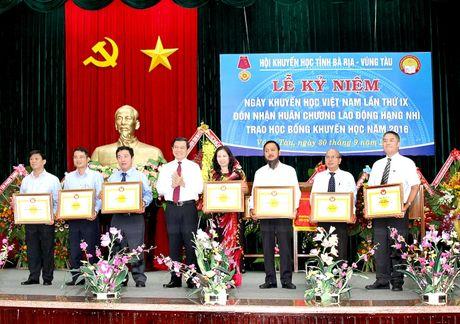 PV GAS dong hanh cung Hoi Khuyen hoc tinh Ba Ria-Vung Tau - Anh 2