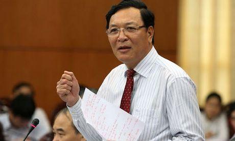 Nguyen Bo truong Pham Vu Luan lam giang vien truong DH Thuong mai - Anh 1