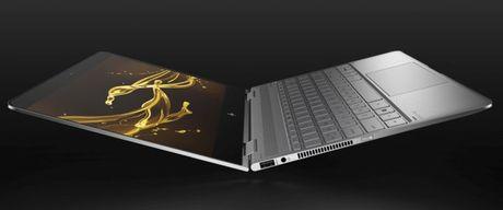 HP nang cap Spectre X360 thanh laptop mong, nhe va manh hon - Anh 4