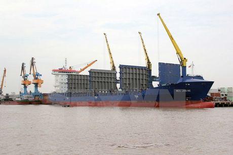 Cang Hai Phong va hang tau Heung-A lien doanh khai thac logistics - Anh 1