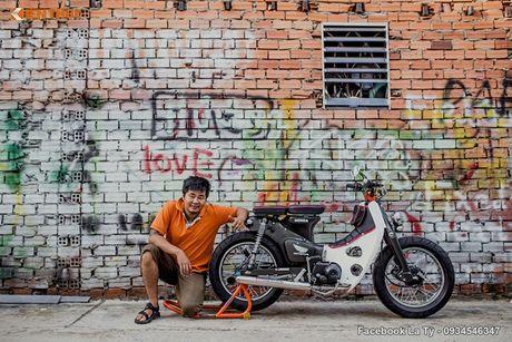 Honda Super Cub 78 'sieu chat' cua dan choi Sai Gon - Anh 12