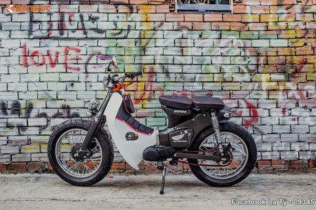 Honda Super Cub 78 'sieu chat' cua dan choi Sai Gon - Anh 1