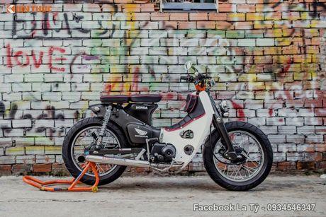 Honda Super Cub 78 'sieu chat' cua dan choi Sai Gon - Anh 2