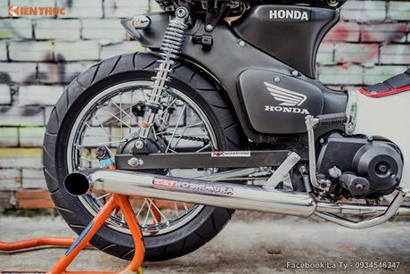 Honda Super Cub 78 'sieu chat' cua dan choi Sai Gon - Anh 9