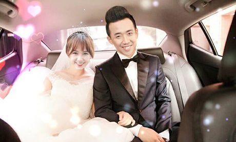 Hari Won tuoi tan ben Tran Thanh sau ca phau thuat - Anh 4