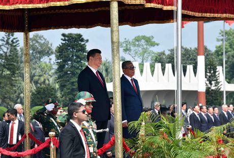 Trung Quoc rai tien o Bangladesh va Campuchia - Anh 1