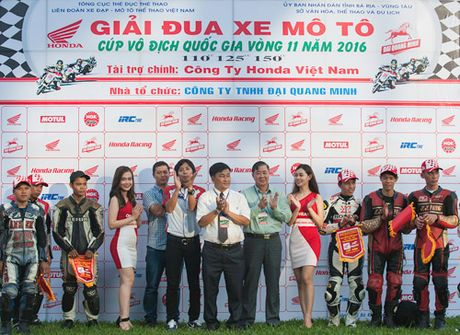 Honda Viet Nam lan dau dua giai dua xe den voi khan gia Ba Ria - Anh 1