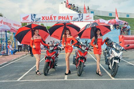 Honda Viet Nam lan dau dua giai dua xe den voi khan gia Ba Ria - Anh 2