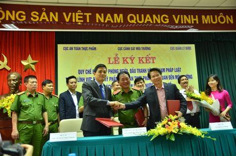 Lien bo Y te - Cong an phoi hop chong toi pham ve thuc pham, duoc pham - Anh 1
