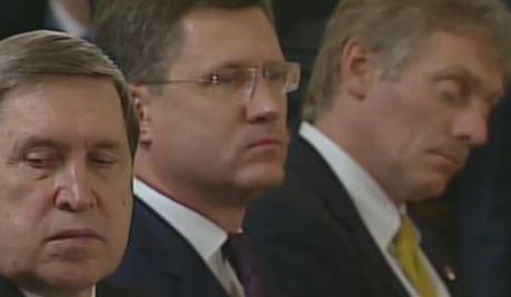 Phat ngon vien dien Kremlin ngu gat giua cuoc hop cap cao Nga - Tho - Anh 2