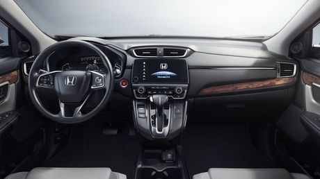 Honda CR-V 2017 ra mat: Rong rai va manh me hon - Anh 2