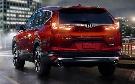 Honda CR-V 2017 ra mat: Rong rai va manh me hon - Anh 4