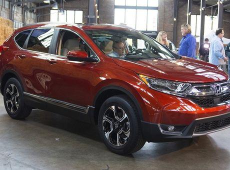 Honda CR-V 2017 ra mat: Rong rai va manh me hon - Anh 5