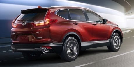 Honda CR-V 2017 ra mat: Rong rai va manh me hon - Anh 6