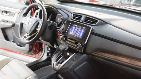 Can canh chi tiet Honda CR-V 2017 the he moi vua trinh lang - Anh 11