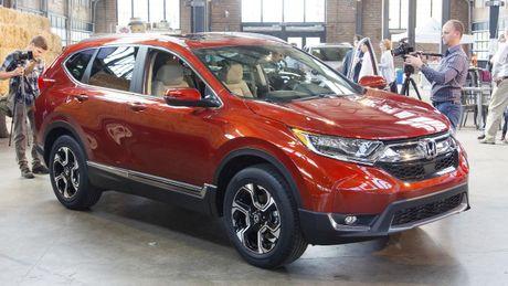 Can canh chi tiet Honda CR-V 2017 the he moi vua trinh lang - Anh 2