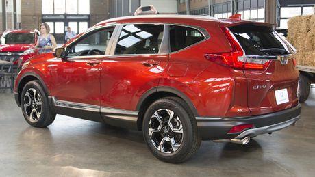 Can canh chi tiet Honda CR-V 2017 the he moi vua trinh lang - Anh 3