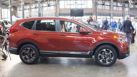 Can canh chi tiet Honda CR-V 2017 the he moi vua trinh lang - Anh 4