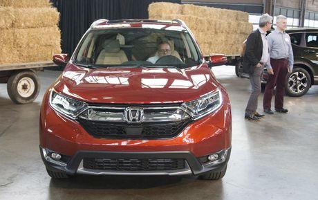 Can canh chi tiet Honda CR-V 2017 the he moi vua trinh lang - Anh 5