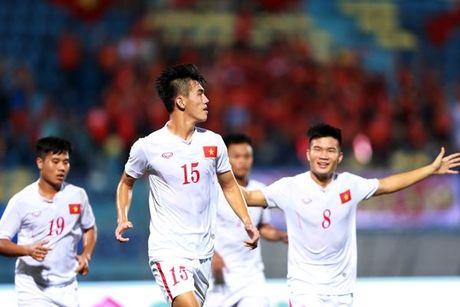 XEM TRUC TIEP U19 Viet Nam - U19 CHDCND Trieu Tien TAI DAY - Anh 1
