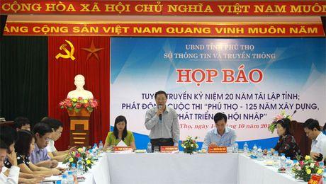 "Phat dong cuoc thi ""Phu Tho - 125 nam xay dung, phat trien va hoi nhap"" - Anh 1"