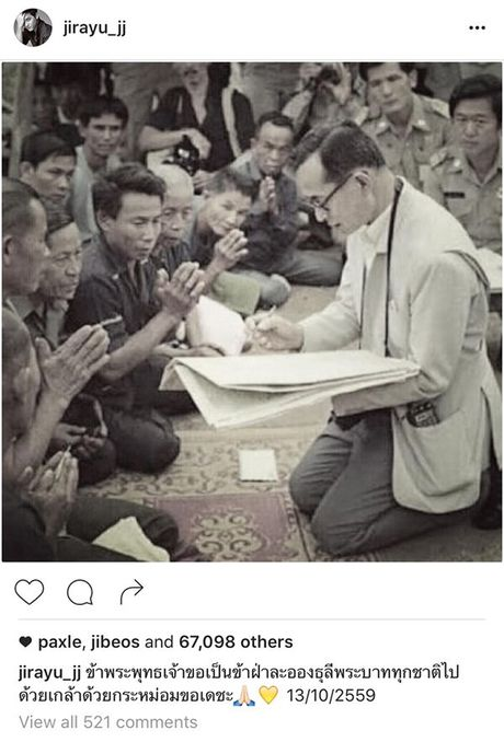 Sao Thai nghen ngao vinh biet Quoc vuong Bhumibol Adulyadej - Anh 8
