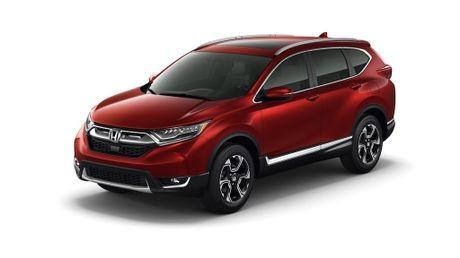 Honda CR-V 2017 lo dien, chua co ban 7 cho ngoi - Anh 1