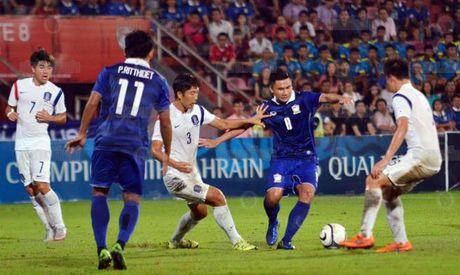 U19 Thai Lan tham bai truoc U19 Han Quoc - Anh 1