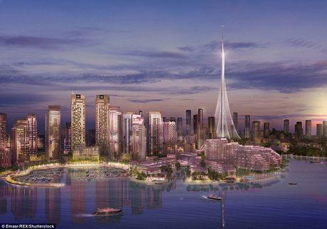 Dubai chuan bi pha ki luc ve toa nha cao nhat the gioi voi cong trinh cao hon 1km - Anh 2