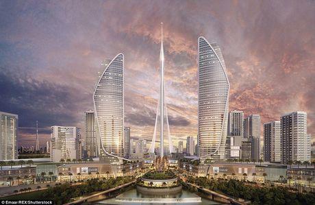 Dubai chuan bi pha ki luc ve toa nha cao nhat the gioi voi cong trinh cao hon 1km - Anh 4